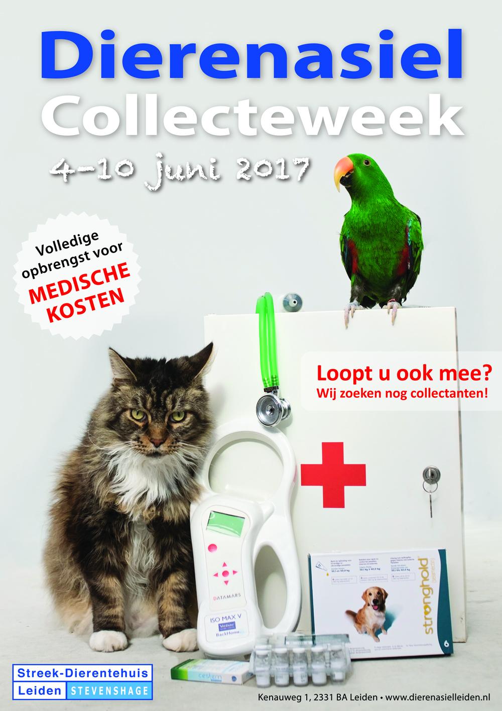 Collecte voor Dierentehuis Stevenshage: van 4 t/m 10 juni 2017