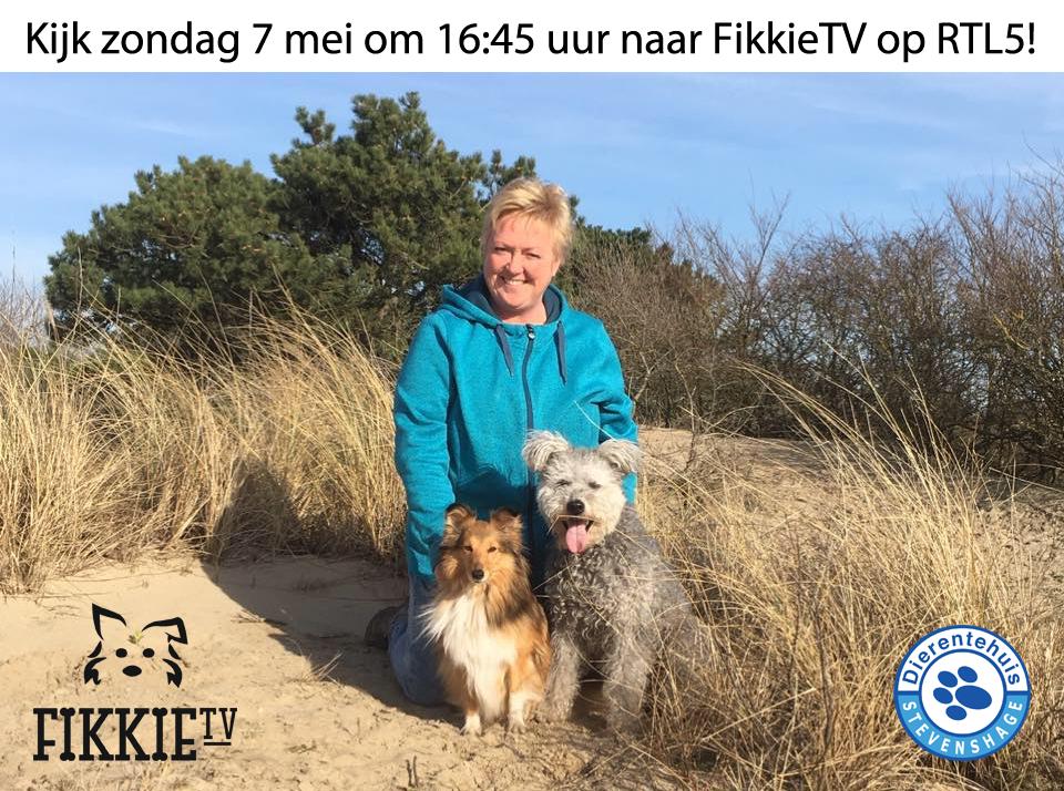 Nita & Juul in actie bij FikkieTV voor Dierentehuis Stevenshage