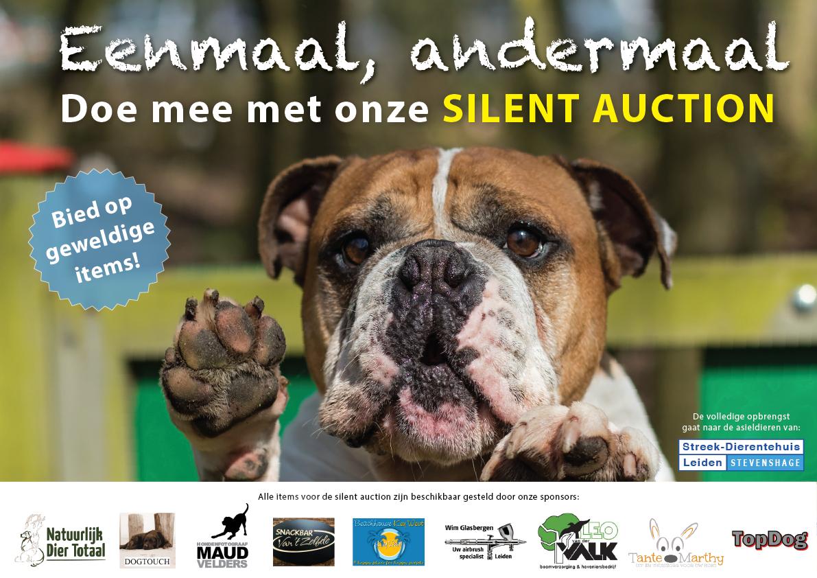 Bied mee op geweldige items in de Silent Auction op onze Open Asieldag op 6 oktober!