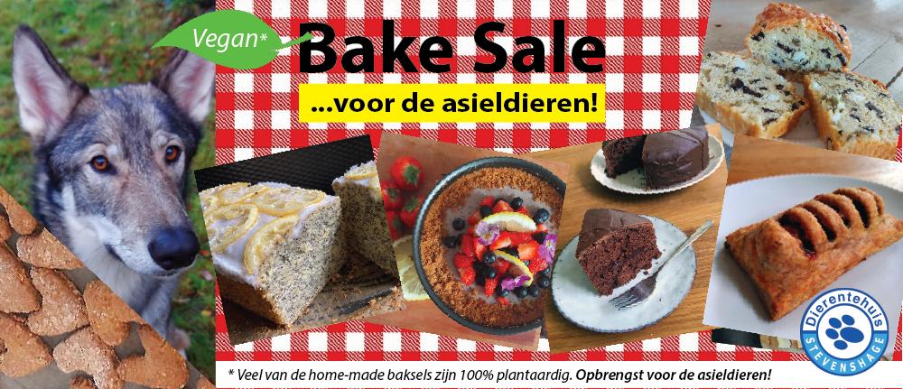 Bestel uw (vegan) gebak in de Bake Sale webshop van Dierentehuis Stevenshage!