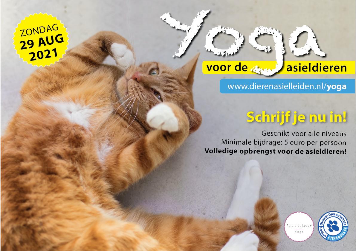 Doe mee met online yoga op 29 augustus 2021!