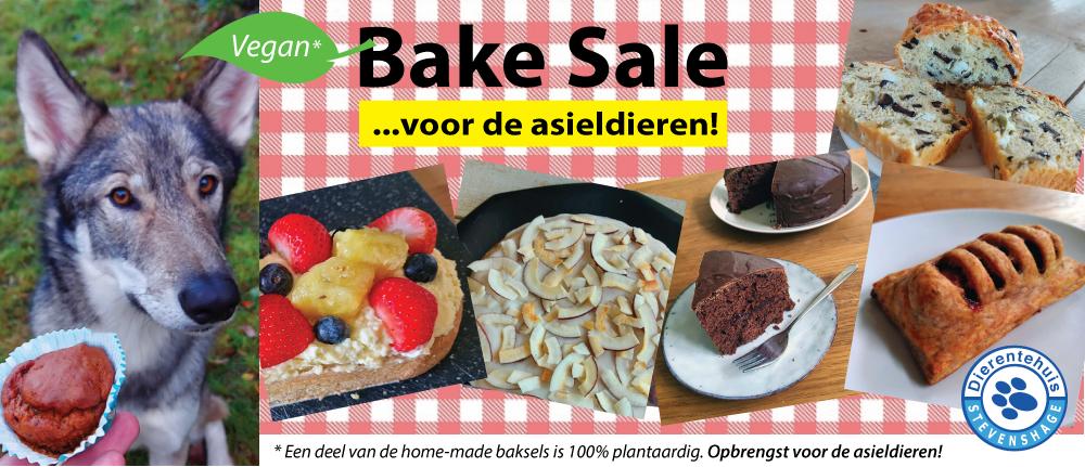 Klik om naar de Bake Sale webshop te gaan - opbrengst voor de asieldieren van Dierentehuis Stevenshage in Leiden!